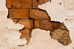 Brick wall and stucco Stock Photography