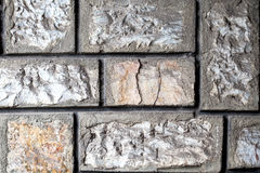 Brick Wall Surfaced Royalty Free Stock Images