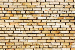 Brick Wall Texture. Grunge style brick wall background Stock Images