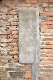Brick wall texture abstract cement & backgrounds. Take on 2014-10-31 royalty free stock photography