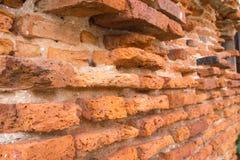 Brick wall. Texture of ancient brick wall royalty free stock photography