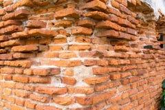 Brick wall. Texture of ancient brick wall royalty free stock image