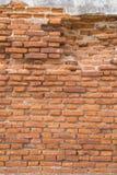 Brick wall. Texture of ancient brick wall stock images