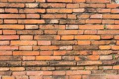 Brick wall. Texture of ancient brick wall stock photo