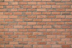 Brick wall texture. Background of brick wall texture royalty free stock image