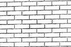 Brick wall texture background Royalty Free Stock Photography