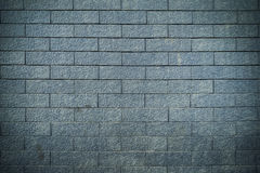 Brick wall texture background, blue color Royalty Free Stock Images