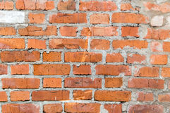 Brick wall texture background. Grunge brick wall texture for your background Royalty Free Stock Photos