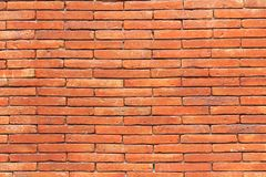 Brick wall texture background for interior exterior decoration. Royalty Free Stock Images