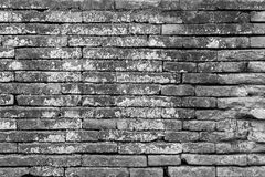 Brick wall texture background for interior exterior decoration. Royalty Free Stock Photo