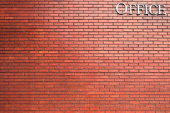 Brick wall texture background material of industry building cons Royalty Free Stock Photos
