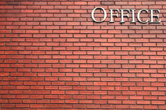 Brick wall texture background material of industry building Royalty Free Stock Image
