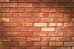 Brick wall texture background material of industry building Stock Photos