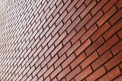 Brick wall texture background material of industry building Stock Image
