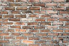 Brick wall texture. Background of old brick wall texture Royalty Free Stock Images