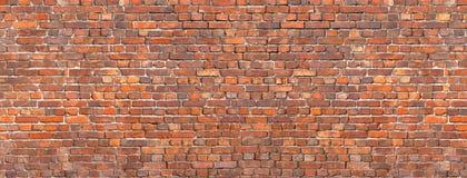Brick wall background, red stone masonry texture Stock Photography