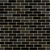 Brick wall texture background seamless cgi black and grey Stock Photography