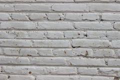 Brick wall texture background. Vintage white brick wall texture background Royalty Free Stock Image