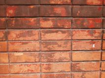 Brick wall texture background and wallpaper Royalty Free Stock Images