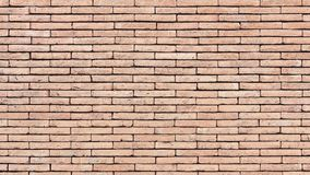Brick wall texture or brick wall background for interior exterior decoration and industrial construction concept design.  Stock Photo