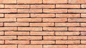 Brick wall texture or brick wall background for interior exterior decoration and industrial construction concept design.  Stock Photography