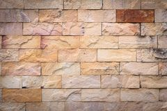 Brick wall texture or brick wall background for interior exterior decoration and industrial construction concept design.  Stock Photos