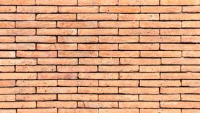 Brick wall texture or brick wall background for interior exterior decoration and industrial construction concept design.  Royalty Free Stock Photos