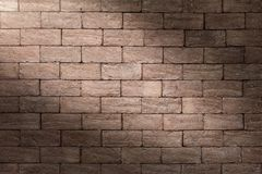 Brick wall texture or brick wall background for interior exterior decoration and industrial construction concept design.  Royalty Free Stock Image