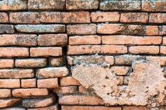 Brick wall texture, brick wall background. Royalty Free Stock Photography