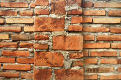 Brick wall texture cement & backgrounds Stock Photography