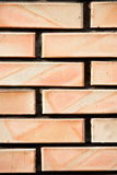 Brick wall texture closeup Stock Photos