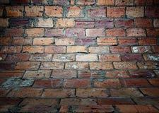 Brick wall texture, empty interior Royalty Free Stock Photo