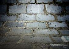 Brick wall texture, empty interior Royalty Free Stock Photography