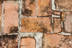 brick wall texture grunge background Royalty Free Stock Images