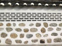 Brick wall texture, Korean style Royalty Free Stock Photo