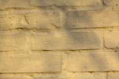 Brick wall texture. Old white brick wall texture Stock Photo