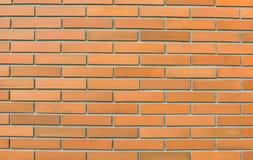 Brick wall. Texture of orange brick wall Stock Images