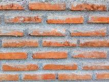 Brick wall texture. Orange brick wall texture wallpaper background Royalty Free Stock Photos
