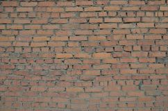 A brick wall texture. This picture shows a brick wall texture stock images