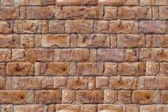 Brick wall texture. Reddish brown old brick wall, seamless, tiling Royalty Free Stock Photos