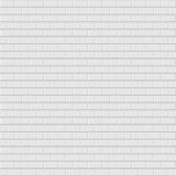 Brick wall texture - seamless. Brick wall texture. Vector background - seamless. White and gray rectangle texture Royalty Free Stock Photos