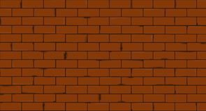 Brick wall texture seamless vector illustration royalty free illustration