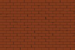 Brick wall texture seamless vector illustration royalty free illustration