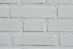 Brick wall textures background. White concrete brick wall textures background royalty free stock images