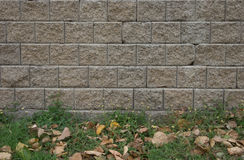 Brick wall textures. Outside brick wall textures background Royalty Free Stock Photo