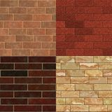 Brick wall textures vol. 1 Stock Photos