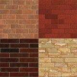 Brick wall textures vol. 1 Stock Photos