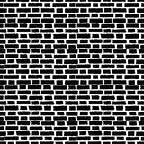 Brick wall tile, seamless pattern with bricks Stock Images