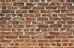 Brick wall from a Tudor Mansion Royalty Free Stock Photo