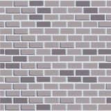Brick wall - vector background. With colored elements Royalty Free Stock Photography